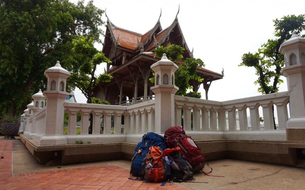 Bangkok backpacks