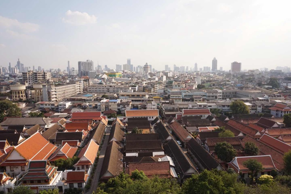 Mount - bangkok skyline