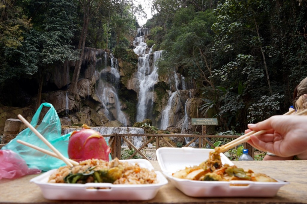 Khuang Si waterfall lunch