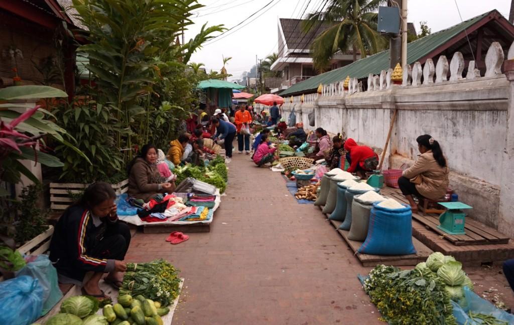 Luang Prabang fresh market