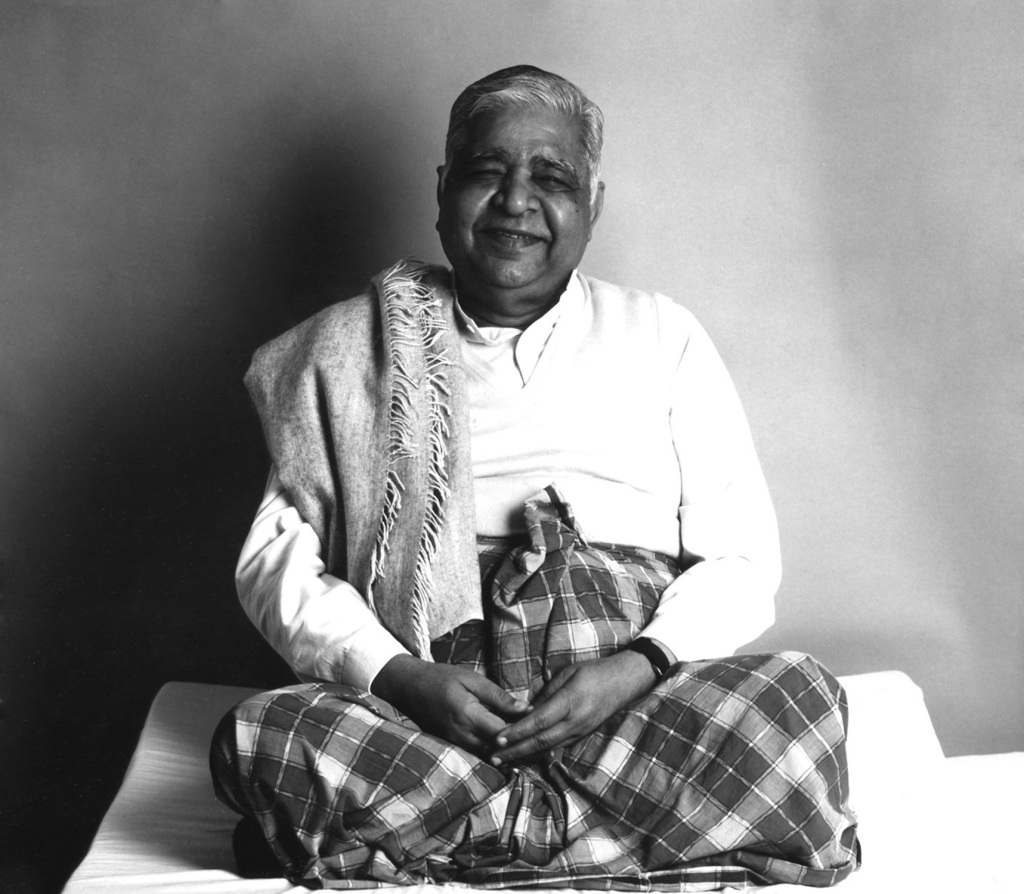 The peaceful S.N. Goenka
