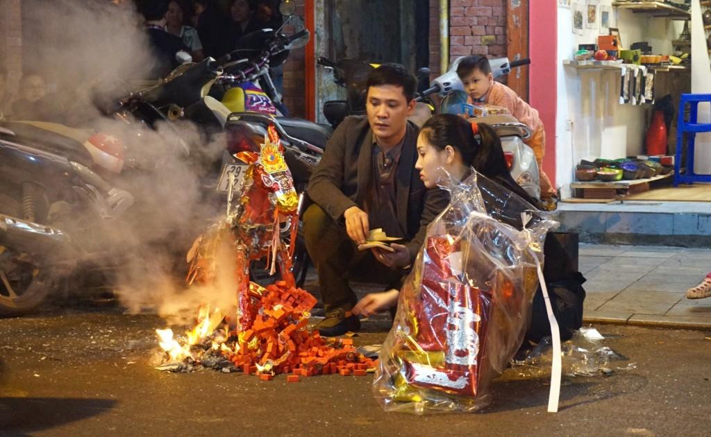 Hanoi Tet fire