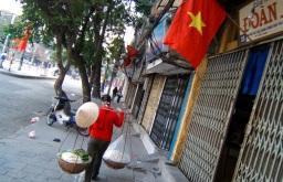 Hanoi, a peculiar rush hour