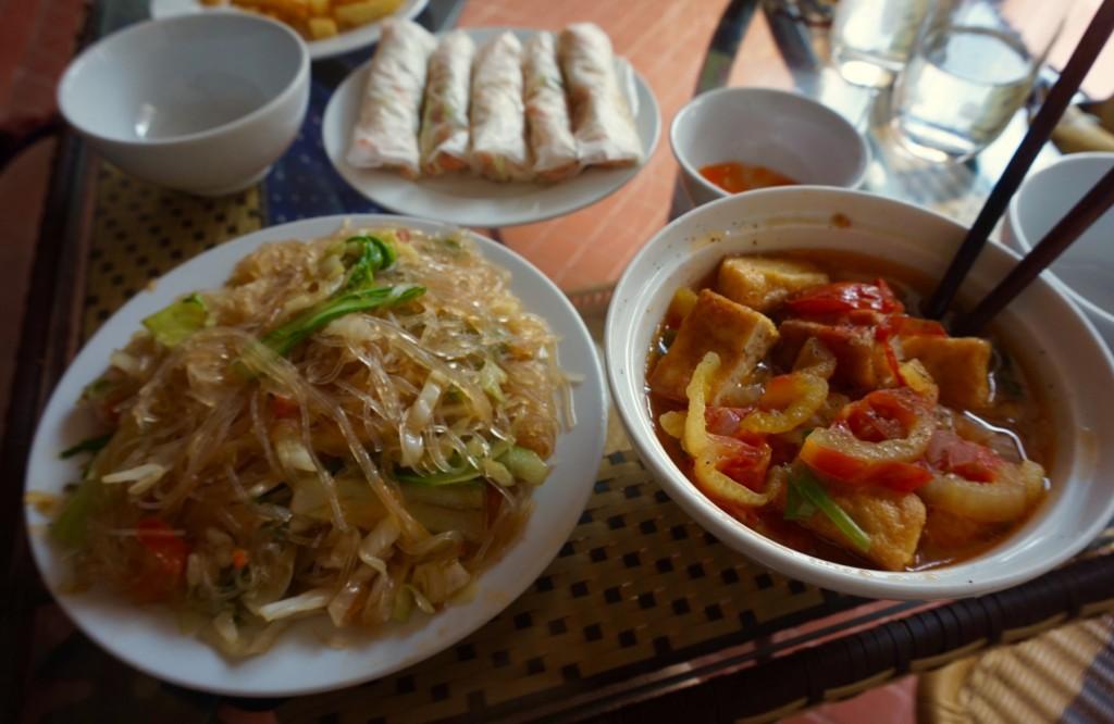 Viet Bamboo tofu noodles