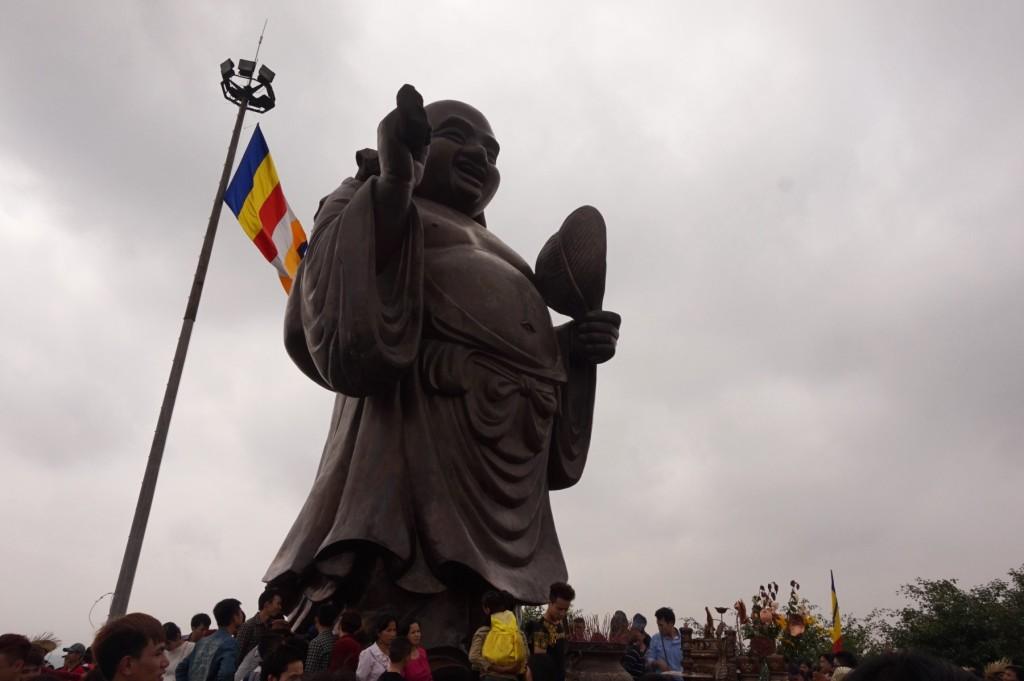 Bai Dinh Temple big buddha