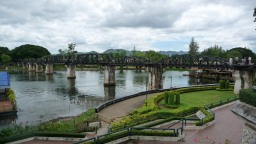 Kanchanaburi, vegan-friendly city with quite the history